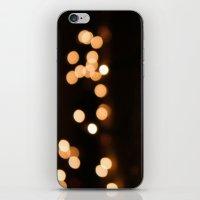 bokeh iPhone & iPod Skins featuring Bokeh by Ellie Rose Flynn