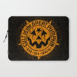 Cult of the Great Pumpkin: Alchemy Logo Laptop Sleeve