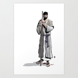 JESUS the Son of God Art Print