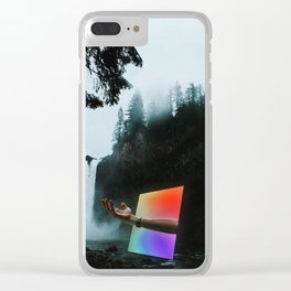 Portal into the Woods Clear iPhone Case
