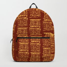 Lex Bricks Red Backpack