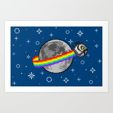 Nyan Space Core Art Print