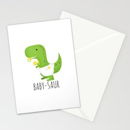 Baby-saur Stationery Cards