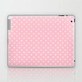 Dots (White/Pink) Laptop & iPad Skin