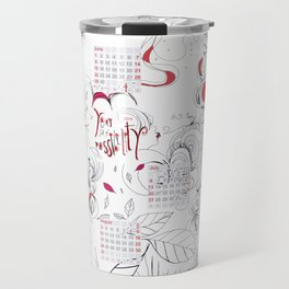 Calendar mess Travel Mug