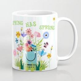 Spring Has Sprung Cuteness In The Garden Coffee Mug