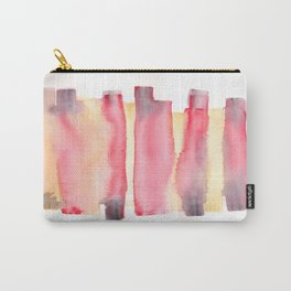 141203 Abstract Watercolor Block 40 Carry-All Pouch