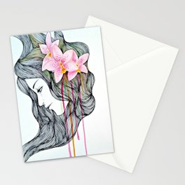 Unconscious conversation with...  Stationery Cards