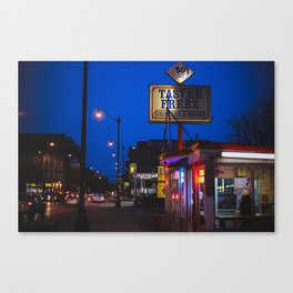 Staple of Logan Square Canvas Print