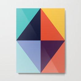 Colorful pattern XX Metal Print