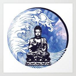 Deepwater Buddha Art Print
