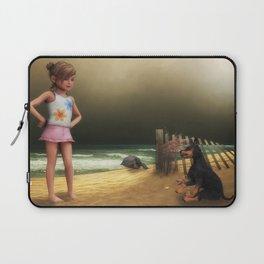 At the Beach Laptop Sleeve
