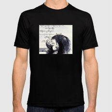 The Thinker Black MEDIUM Mens Fitted Tee