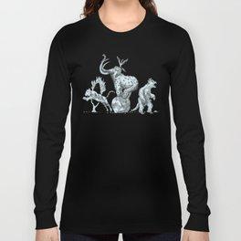Prehistoric Circus Long Sleeve T-shirt