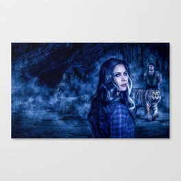 Charumati - the Purple-Eyed Werewolf Canvas Print
