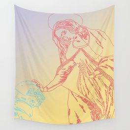 The Catechismic Curve Wall Tapestry