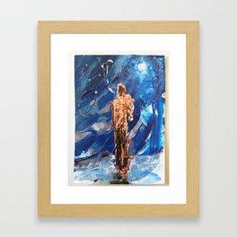 WANDERING STAR by JACK LARSON Framed Art Print