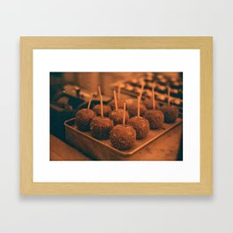 Caramel Delight Framed Art Print
