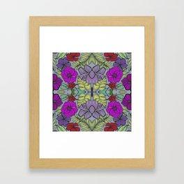 Psychedelic Spring Framed Art Print