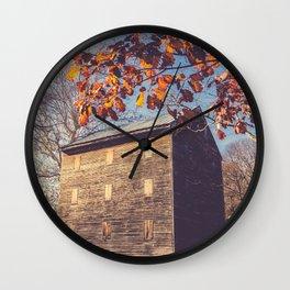 Rock Mill Wall Clock