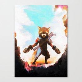 Rocket Canvas Print