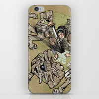 shadow of the colossus iPhone & iPod Skins featuring fourteenth colossus by im cbad