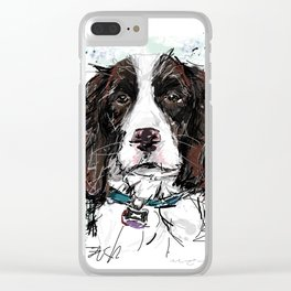 Bouvier Clear iPhone Case