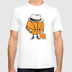 Traveling GY Mens Fitted Tee White SMALL