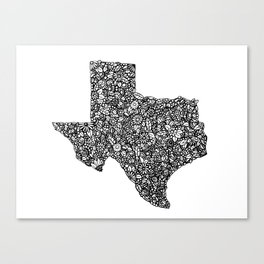 Texas Canvas Print