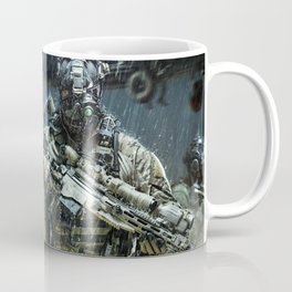 Night time Sniper Hunting Coffee Mug
