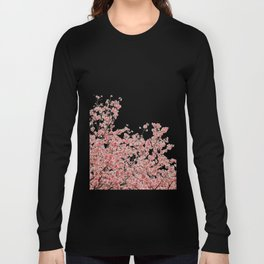 Cherry Blossoms (Color) Long Sleeve T-shirt