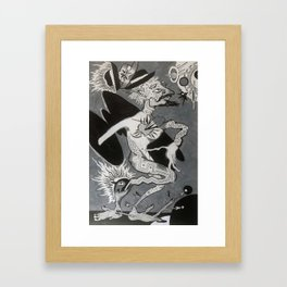 Hobo Wizard: Transcendence, Hobo Wizard series. Framed Art Print