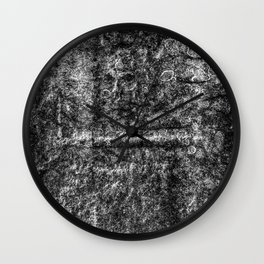 Ancient Grave Skull Wall Clock