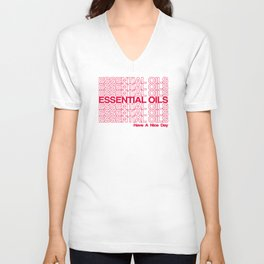 Essential Oil - Thank You Unisex V-Neck