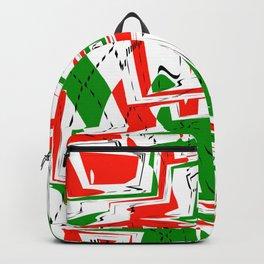 Christmas Argyle 1 Backpack