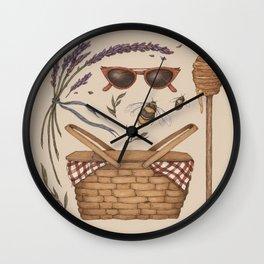 Summer Picnic Collection Wall Clock
