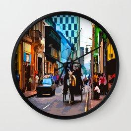 Lima, Peru - Around town Wall Clock