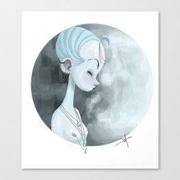 Moon Guardian Canvas Print