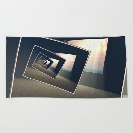 Surreal Windows Beach Towel