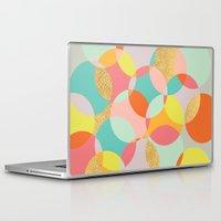 fancy Laptop & iPad Skins featuring Fancy by K&C Design