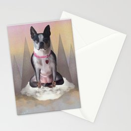 Zen Terrier Stationery Cards