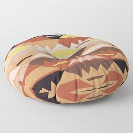 African Tribal Pattern No. 27 Floor Pillow