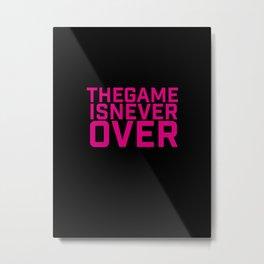 TheGame Metal Print