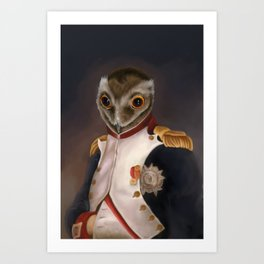 Napoleon potooparte Art Print