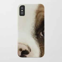 Boxer Nose iPhone Case