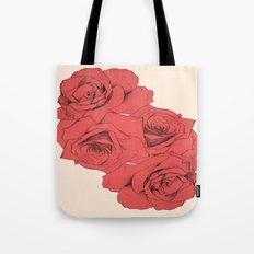 Tattoo Rose | Floral  Tote Bag