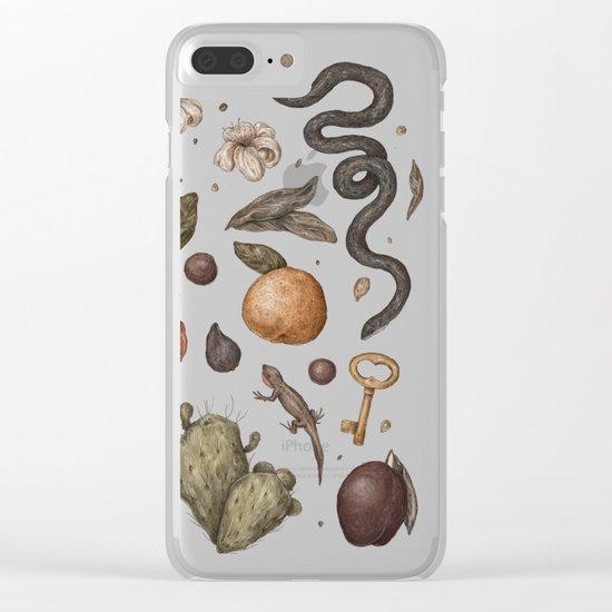 Florida Nature Walks Clear iPhone Case
