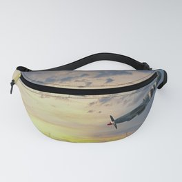 Spitfire and Hurricane Sunset Fanny Pack