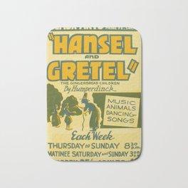 Hansel and Gretel Bath Mat