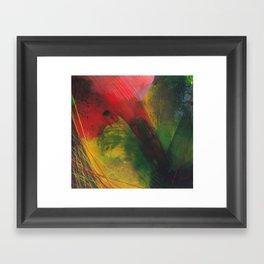 rapid movement Framed Art Print